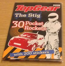 TOP GEAR THE STIG 30 Pocket Rockets Book (With 200 Stickers) NEW