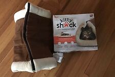 Kitty Shack - 2 in 1 Tube Cat Mat and Bed Pet Accessories Brown 1 Pack New