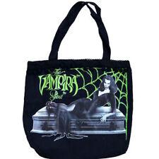 Kreepsville 666 licensed Vampira tote bag purse Coffin Casket Maila Nurmi Goth
