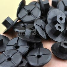 50x Plastic Nut Self Threading 4.2mm Multi-Purpose Body For Mercedes Benz BMW