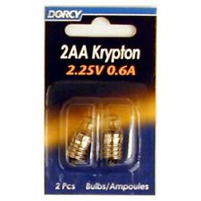 Dorcy 41-1664 2AA-2.25-Volt, 0.6A Krypton Replacement Bulb, 2-Pack