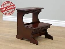 Wooden Step Stool Furniture Decor Home Kitchen Wood Stepping Stools Decorations