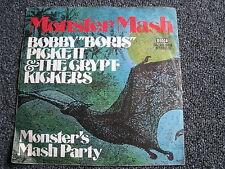Bobby Boris Pickett & The Crypt Kickers- Monster Mash 7 PS-Germany-Rock