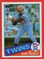 1985 Topps #536 Kirby Puckett ROOKIE RC NEAR MINT/MINT+ Minnesota Twins FREE S/H
