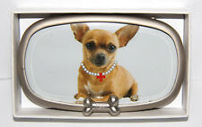 NEW Fuzzy Nation Chihuahua Dog Picture Frame