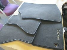 TOYOTA AYGO 2014-2020 VELOUR CARPET FLOOR MATS GENUINE dark grey X4