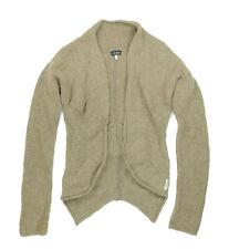 womens ARMANI Jeans Cardigan wool size UK 8, used - Beige