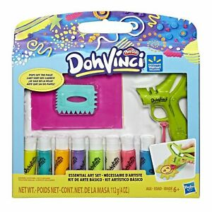 Play-Doh Dohvinci Essential Art Set. 8 Color Tubes Included.   *30 CM TALL*
