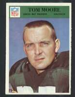 1966 Philadelphia #86 Tom Moore NM/NM+ Packers 66661