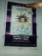 JEKYLL AND HYDE...TOGETHER AGAIN (1982) MARK BLANKFIELD ONE SHEET POSTER
