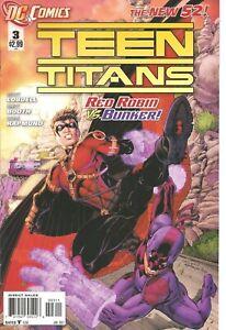 °TEEN TITANS #3 THE NEW 52 RED ROBIN vs BUNKER° Eng DC 2011