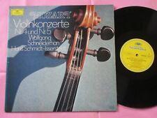 MOZART Violin Concerto No.4 No.5 Wolfgang Schneiderhan Schmidt-Isserstedt DG LP