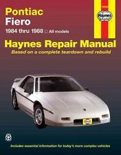 Pontiac Fiero '84'88 (Haynes Manuals)-ExLibrary
