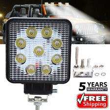 NEW Square 27W LED Work Light 12V 24V Off Road Flood Spot Lamp For Car Truck SUV