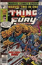Marvel Comics Group! Marvel Two-In-One! Ft. The Thing Issue 26!