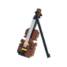 *NEW* NANOBLOCK Violin - Nano Block Micro-Sized Building Blocks NBC-018