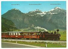 Zillertalbahn Tyrol Train Postcard Austria with Ebnerjoch Sonnwendjoch Mtns more