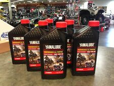 Yamalube Genuine Oil 6 Quarts Four Stroke 10W-40 Grizzly Rhino YFZ R1 R6 Star