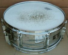 1970s? PEARL Maxwin SNARE DRUM~14in. Dia. Head~Chrome~NO Snare Chain Wires