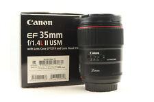 Canon 35mm F1.4 L II EF USM Prime Lens (BOXED) -BB 763-