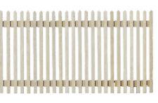 Dollhouse Miniature Wood Fence 1:12 Scale