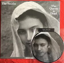 """THE SMITHS -The Queen Is Dead- Rare UK 12"""" & 7"""" Picture Disc (2x Vinyl Records)"""