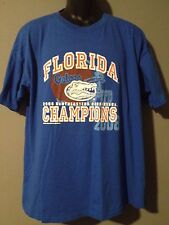 Florida Gators 2008 South Eastern Conference SEC Champions NCAA Blue XL T-shirt