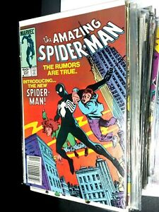 THE AMAZING SPIDER-MAN COMIC BOOK #252 in VERYFINE/NEARMINT cond.