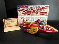 Schylling Tin Flash Gordon Sparkling Rocket Fighter W/Orig Box/COA NearMint Cond