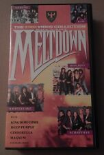 Rock 'N' Roll Meltdown, Compilation, VHS , 1988, Warlock , Kiss, Deep Purple
