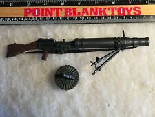 21st CENTURY Lewis Gun WWII BRITISH / US 1/6 ACTION FIGURE TOYS did