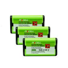 3 Cordless Phone Battery for Panasonic HHR-P546A KX-TG100N HHRP513 CPH-485 91077