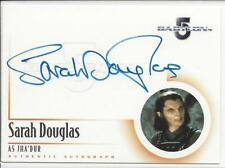 Babylon 5 Sarah Douglas as Jha`Dur Auto Card A13