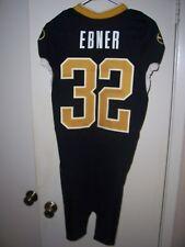 WILL EBNER (Missouri Tigers) #32 Game Used/Worn Black JERSEY (Size 40)