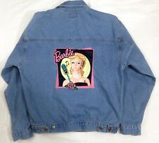 Vintage BARBIE Mattel Denim Jacket by Jerry Leigh (M) made in USA #A25