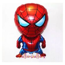 "Spiderman Superhero Marvel Foil Balloon Helium Party Birthday 28"" large"
