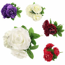 Faux Silk Rose Dried & Artificial Flowers