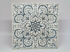 Arts   Crafts 6  Blue White Tile Late 19th or Early 20th Century Craven Dunnill