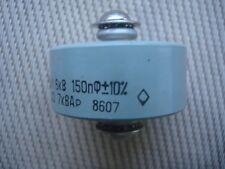 150pF 7kVAR 6kV Keramische Kondensatoren, Ceramic Doorknob Capacitor, Military