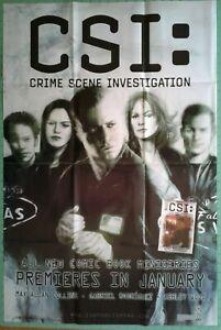 """CSI: Crime Scene Investigation"" 2002 IDW Promo Poster, Ashley Wood art"