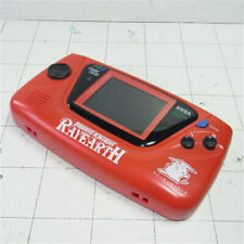 Magic Night Rayearth SEGA Game Gear Red Console System Glass with AC adapter