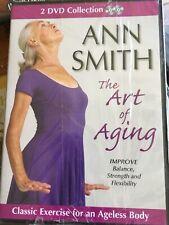 Ann Smith The Art of Aging 2 DVD improve balance strength flexibiltiy senior fit