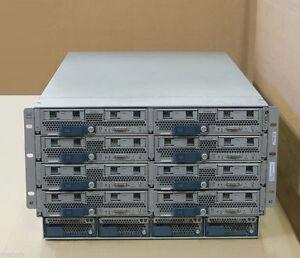 Cisco UCS5108 + 8x B200 M3 Blade Servers 16x EIGHT-CORE E5-2660 3TB (3072GB) RAM