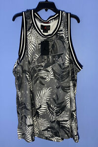 RARE! Nike Air Jordan Wings Tropical Palm Tree Tank  Jersey CJ4314-084 Size 3XL