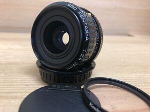 Near Mint SMC Pentax A 35mm F/2.8 Wide Angle MF Lens PK K Mount From Japan
