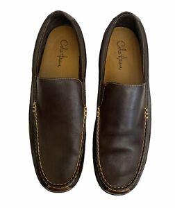 Cole Haan Men's Tucker Venetian Slip On Loafer 2 Tone Brown #C04059 Sz.14 M NWOB