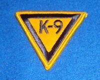 Police K-9 Unit Patch