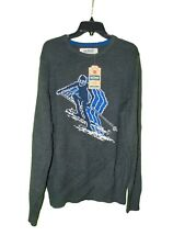 Urban Pipeline Ski Sweater Large Men New Gray