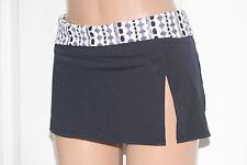 NEW Bleu Rod Beattie Black Multi Skirted Swimwear Panty Bikini Bottom size 10