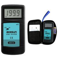 Digital EMF Tester Electromagnetic Radiation Meter Field Wave Detector Dosimeter